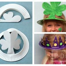 ทำหมวกปาร์ตี้ จากจานกระดาษ