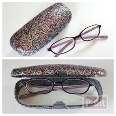 กล่องแว่นตาสวยๆ ตกแต่งลายน่ารักๆ