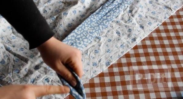 รูป 3 ที่คาดผมแบบผ้า ทำเอง