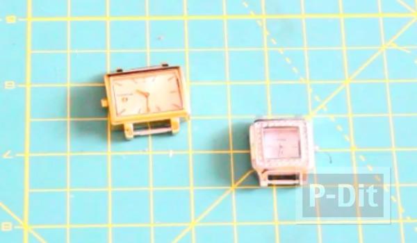 รูป 2 สอนทำสายนาฬิกาสวยๆ จากสร้อยข้อมือ