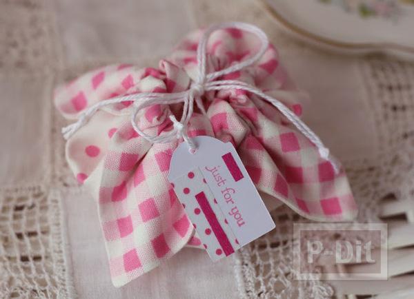 รูป 3 ทำถุงใส่ของขวัญชิ้นเล็กๆ น่ารักๆ