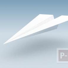 วิธีพับเครื่องบินกระดาษแบบใหม่