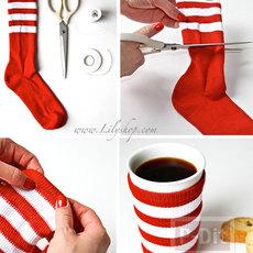 สอนทำที่หุ้มกันร้อน จากแก้วกาแฟ