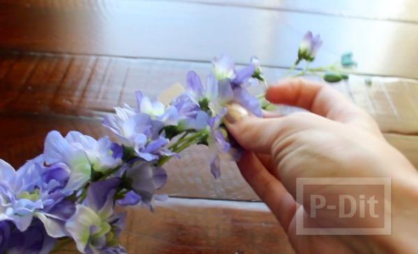 รูป 5 ดอกไม้มงกุฎ ทำเอง ง่ายๆ