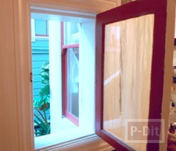 รูป 4 สอนทำผ้าม่านหน้าต่าง ห้องน้ำ