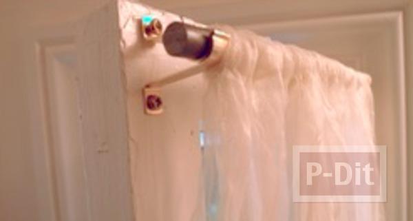 รูป 5 สอนทำผ้าม่านหน้าต่าง ห้องน้ำ