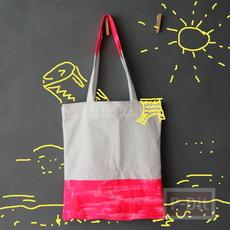 กระเป๋าถุงผ้า ทาสี เย็บง่ายๆ