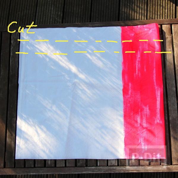 รูป 5 กระเป๋าถุงผ้า ทาสี เย็บง่ายๆ
