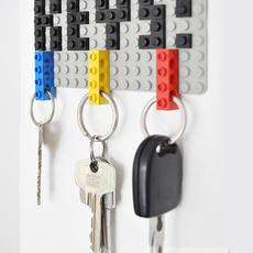 ไอเดียทำพวงกุญแจ กับที่แขวนกุญแจ จากเลโก้