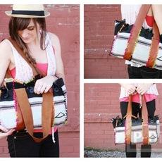 กระเป๋า ทำจากผ้าพันคอ