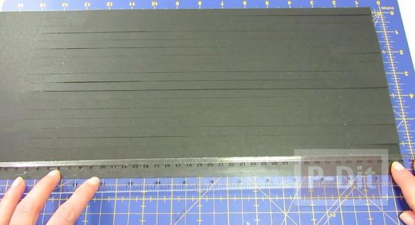 รูป 3 ชามขาว-ดำ ทำจากกระดาษ