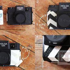 กล้องถ้ายรูปเก่าๆ นำมาตกแต่งใหม่ สวย น่าใช้