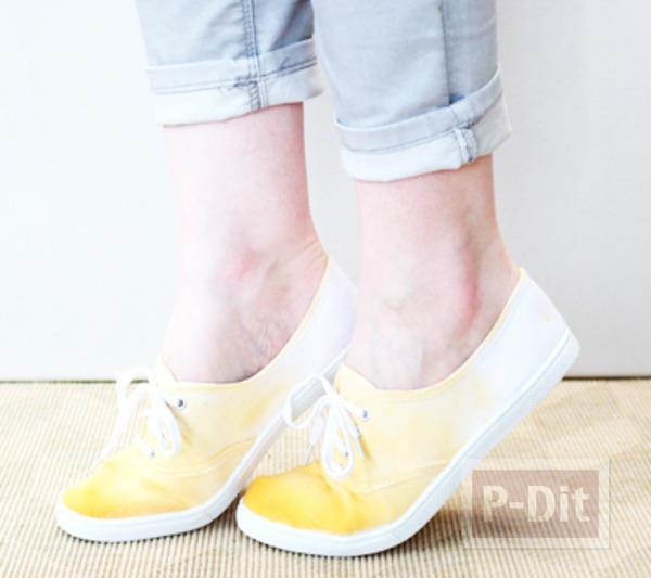 รูป 2 ตกแต่ง เติมสีสัน ให้รองเท้าผ้าใบ