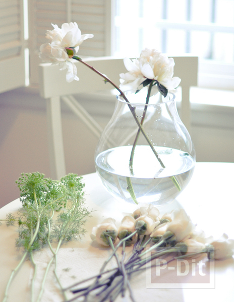 รูป 3 ช่อดอกไม้เจ้าสาว เพื่อนเจ้าสาว ทำเองแบบง่ายๆ