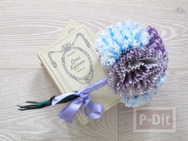 รูป 1 ดอกไม้กระดาษคัพเค้ก