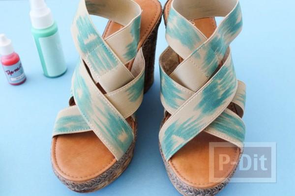รูป 7 สอนตกแต่งสายรองเท้า ลายสวย