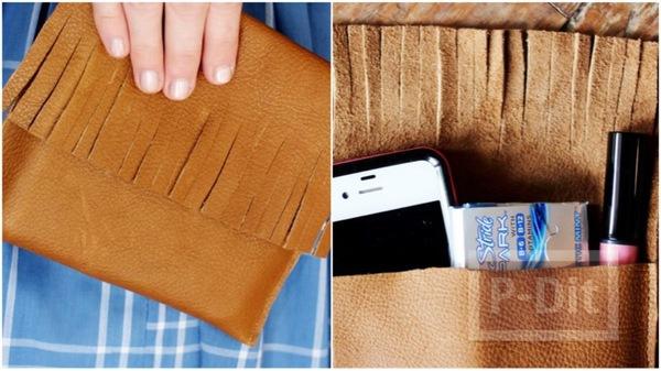 วิธีทำกระเป๋าถือ ใบเล็ก แบบง่ายๆ