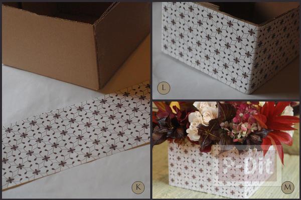 รูป 3 จัดแจกันดอกไม้ ใส่กล่อง