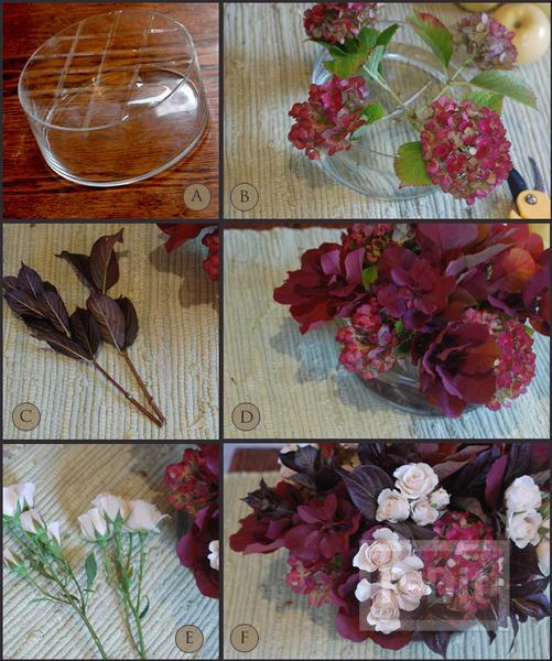 รูป 4 จัดแจกันดอกไม้ ใส่กล่อง