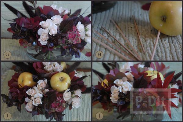 รูป 5 จัดแจกันดอกไม้ ใส่กล่อง