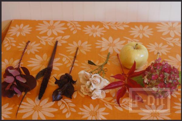 รูป 6 จัดแจกันดอกไม้ ใส่กล่อง