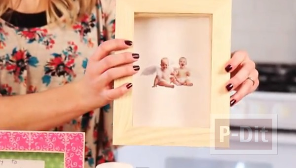 รูป 2 กระปุกออมสิน ทำจากกรอบรูปเก่าๆ
