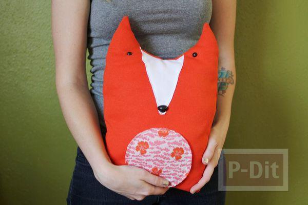 รูป 2 ตุ๊กตาหมอนหมาป่า ลายน่ารักๆ