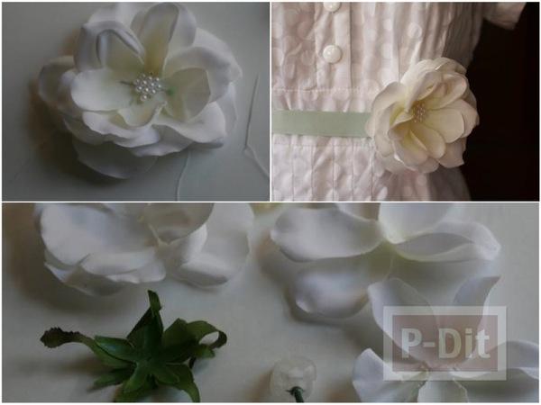 สอนทำเข็มขัดดอกไม้ น่ารักๆ แบบง่ายๆ