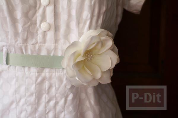 รูป 2 สอนทำเข็มขัดดอกไม้ น่ารักๆ แบบง่ายๆ