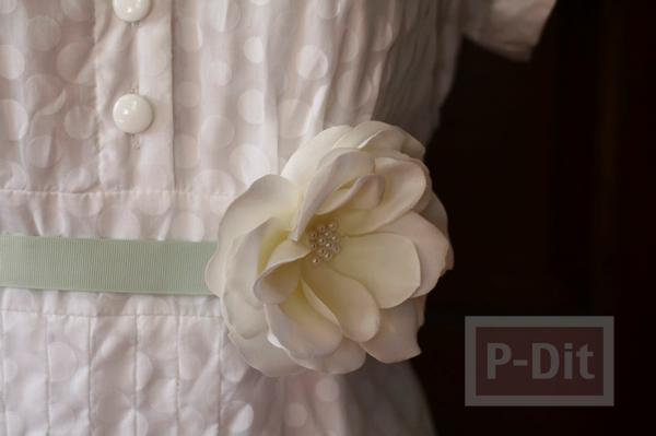 รูป 3 สอนทำเข็มขัดดอกไม้ น่ารักๆ แบบง่ายๆ