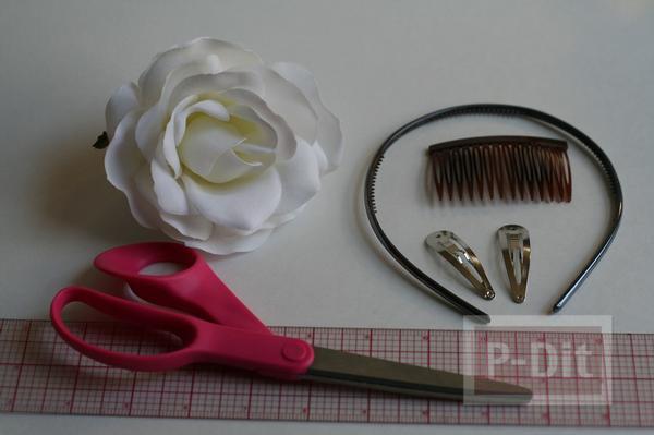 รูป 4 สอนทำเข็มขัดดอกไม้ น่ารักๆ แบบง่ายๆ