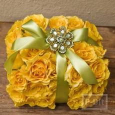 ไอเดียทำกล่องของขวัญดอกไม้สด