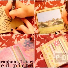สอนทำอัลบั้มรูป จากถุงกระดาษ