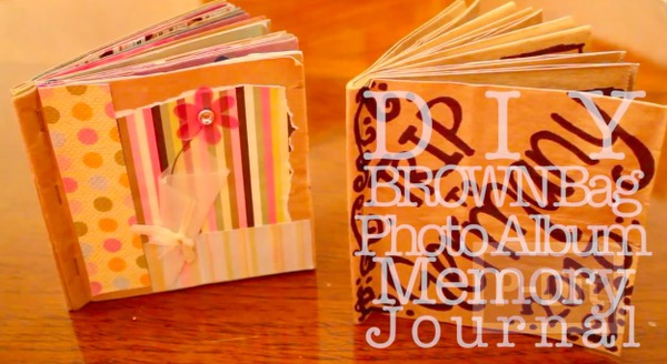 รูป 2 สอนทำอัลบั้มรูป จากถุงกระดาษ