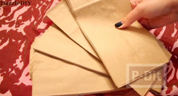 รูป 3 สอนทำอัลบั้มรูป จากถุงกระดาษ