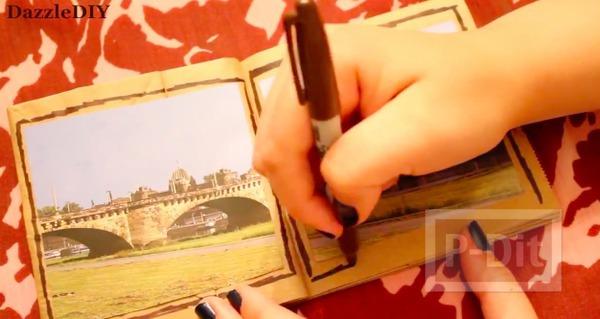 รูป 6 สอนทำอัลบั้มรูป จากถุงกระดาษ