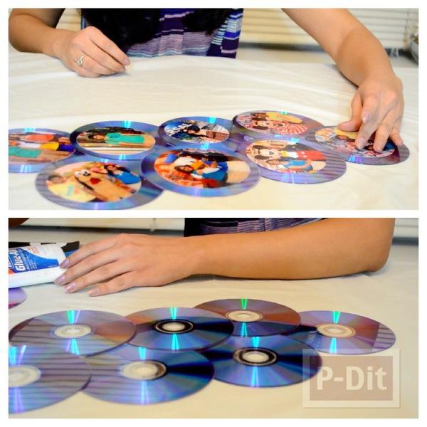 รูป 1 ทำที่โชว์รูปสวยๆ จากแผ่น CD