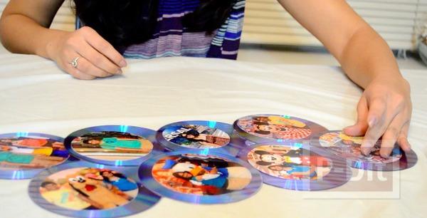 รูป 4 ทำที่โชว์รูปสวยๆ จากแผ่น CD