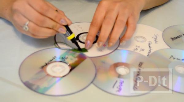 รูป 6 ทำที่โชว์รูปสวยๆ จากแผ่น CD