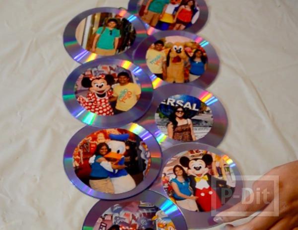 รูป 7 ทำที่โชว์รูปสวยๆ จากแผ่น CD