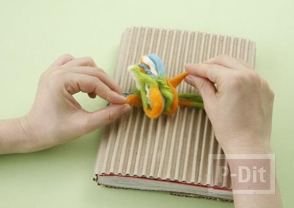 รูป 5 ไอเดียห่อของขวัญ จากกระดาษลัง
