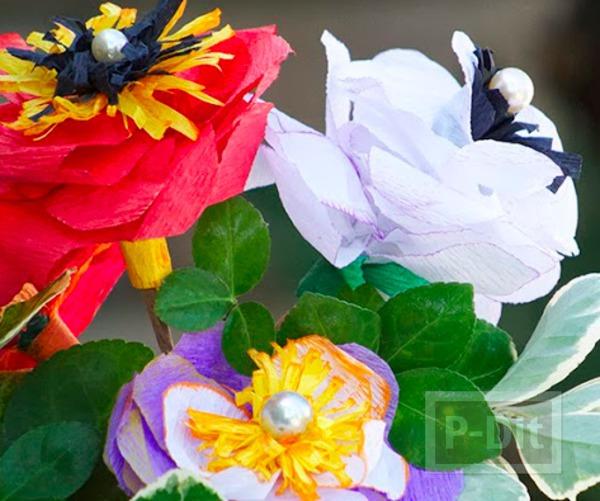 ดอกไม้ตกแต่งแจกันสวยๆ ทำเองแบบง่ายๆ