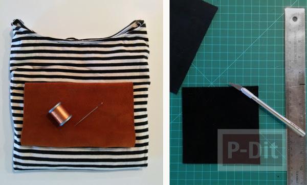 รูป 3 ชุดเดรสลายเรียบ ติดกระเป๋าข้าง สวยสด