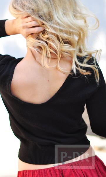 รูป 2 เสื้อแขนยาว ตกแต่งใหม่ สวยน่าใส่