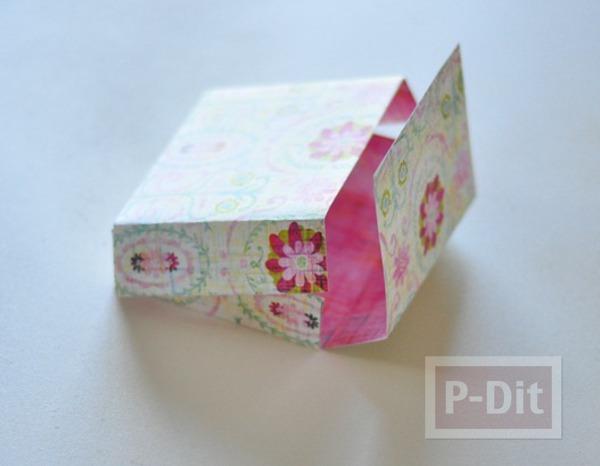 รูป 2 ประดิษฐ์กล่องกระดาษ เล็กๆ ใส่ของขวัญ
