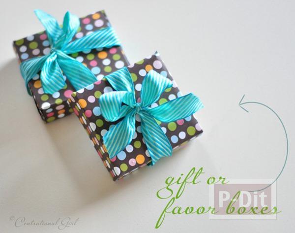รูป 5 ประดิษฐ์กล่องกระดาษ เล็กๆ ใส่ของขวัญ