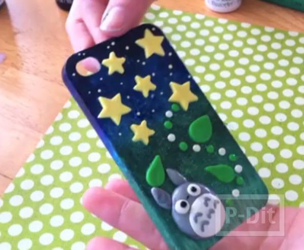 รูป 1 เคสโทรศัพท์ ทาสีใหม่ สวยน่าใช้