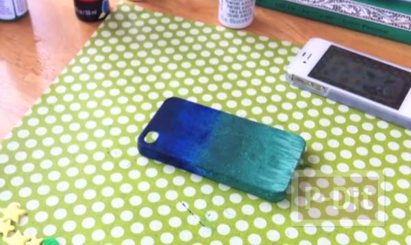 รูป 7 เคสโทรศัพท์ ทาสีใหม่ สวยน่าใช้