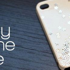 เคสไอโฟน ตกแต่งลายดาว น่ารักๆ