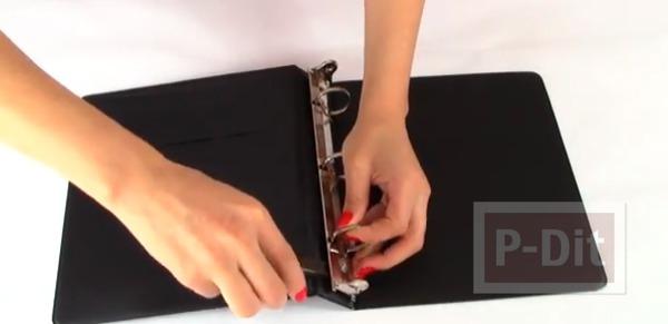 รูป 3 สอนทำกระเป๋า จากสก็อตเทปและแฟ้มเอกสาร